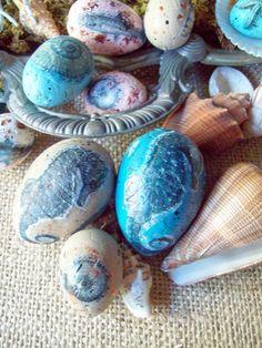 Cute coastal Easter shells!