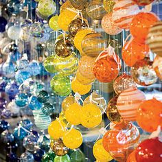 blown glass ornaments - The Glass Spot in Richmond, VA has make your own hand-blown glass ornaments in December
