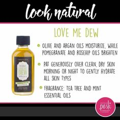 Love Me Dew Hydrating Face Oil $14