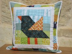 Patchwork Bird – Tutorial | Nero's Post and Patch