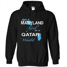WorldBlue Maryland-Qatar Girl - #pullover hoodies #cool t shirts for men. SIMILAR ITEMS => https://www.sunfrog.com//WorldBlue-Maryland-Qatar-Girl-7927-Black-Hoodie.html?60505