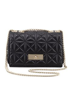 sedgwick place fairlee shoulder bag, black by kate spade new york at Neiman Marcus.