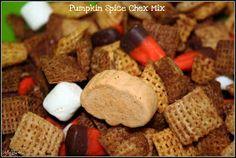 Makin' it Mo' Betta: Pumpkin Spice Chex Mix and Thanksgiving craft