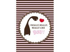 I really, really, really like you!