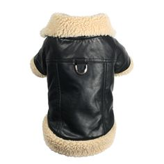 Your pooch is sure to turn heads this winter with the Hip Doggie shearling leatherette coat available at Lola & Penelope's.