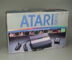 Atari 5200. I got one of these for Christmas when I was a kid. Still my most memorable Christmas.