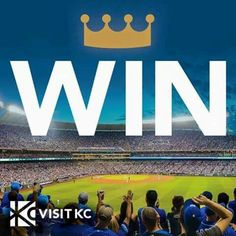 KC wins Game 1 of the 2015 World Series in a white-knuckle, nail-biting, edge- of-your-seat game that went 14 innings and lasted over five hours! LET'S GO ROYALS! Royals Baseball, Nail Biting, Kansas City Royals, Game 1, World Series, The Crown, Letting Go, Let It Be, Champs