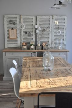 ▷ deco ideas to create an industrial style kitchen Shabby Chic Salon, Industrial Style Kitchen, Diy Décoration, Vintage Decor, Style Vintage, Vintage Kitchen, Kitchen Decor, Kitchen Design, Interior Decorating