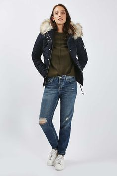 Quilted Puffer Jacket - SHE'S URBAN ORIGINAL - We Love - Topshop