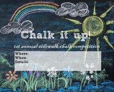 Chalk it up! Host a sidewalk chalk competition at your apartment community to kick off your summer activities!
