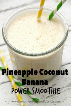 Looking for a great tasting, super filling, nutrient rich, and protein packed smoothie? Well, look no further, this Pineapple Coconut Banana Power Smoothie is all that plus so much more! This is one of our go-to smoothies on busy mornings and perfect for filling bellies during that after-school-before-dinner crunch when you need to run the …