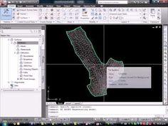 subir puntos, crear superficie,y trazar gradiente en AutoCAD Civil 3D ING. JULIO BLAS - YouTube