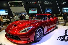 Dodge Viper....still one of my all time favorites...and this red is killer!