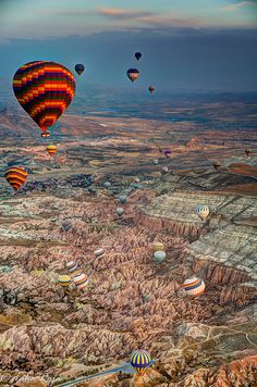 The Great Ascent of Cappadocia Hot Air Balloon, Cappadocia, Turkey