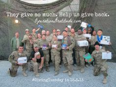 Black Friday…Cyber Monday…and #GivingTuesday!