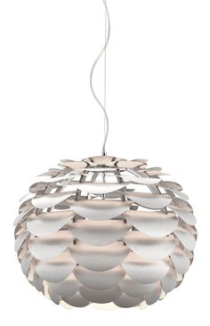 Tachyon Ceiling Lamp Aluminum