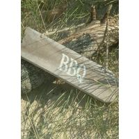Wooden BBQ Sign