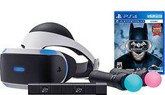 Sony PlayStation VR Batman Starter Bundle 4 items: VR,motion, camera and vr game disc- batman Arkham VR - PlayStation4