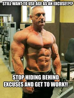age is nothing but a number...don't let that number dictate what you think you can and can't do