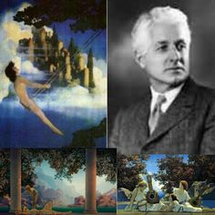 Maxfield Parrish He was a very handsome man as well!