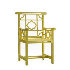 xia li chair at house eclectic. Comes in 7 colors.  They also sell end and console tables with coordinating designs.