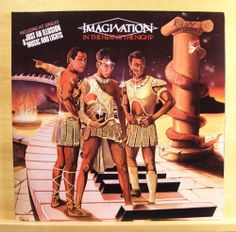 IMAGINATION In the Heat of the Night - near mint Vinyl LP Disco Just an Illusion