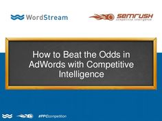 If you are among the 66% of PPC users unhappy with their current results, the solution for your problem is Competitive Intelligence. Tools such as SEMrush and …