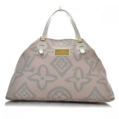 LOUIS VUITTON Tahitienne Cabas GM in Pink.