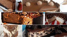 παγκόσμια ημέρα cheescake Food Places, Party Desserts, Cheesecake, Sweets, Chocolate, Smoothie, Drink, Signs, Beverage