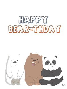 We Bare Bears Birthday Design On Behance In 2019 Ice Bear intended for The Most Incredible We Bare Bears Wallpaper Gif - All Cartoon Wallpapers We Bare Bears Wallpapers, Panda Wallpapers, Cute Cartoon Wallpapers, Ice Bear We Bare Bears, We Bear, Funny Bears, Cute Bears, Bear Meme, Happy Birthday Love Quotes
