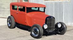 Ford : Model A MODEL A  1928 FORD MODEL A SEDAN TUDOR HOT ROD - http://www.legendaryfind.com/carsforsale/ford-model-a-model-a-1928-ford-model-a-sedan-tudor-hot-rod/