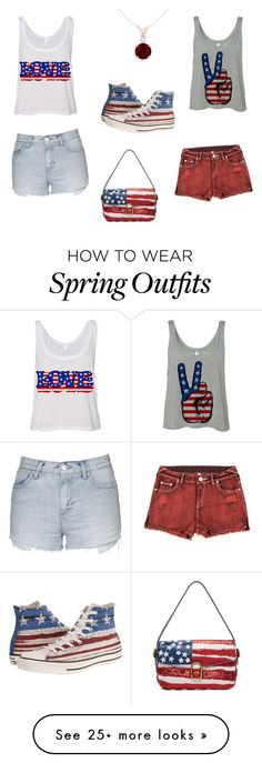 """""""Either/Or"""" by taneciboo on Polyvore featuring Converse, Topshop and Marc Jacobs"""