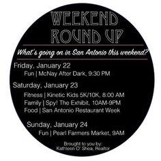 #sanantonio #weekendroundup