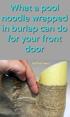 This DIY Burlap project will look amazing in your home!