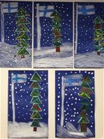 Jouluaskarteluja - www.opeope.fi Hobbies And Crafts, Arts And Crafts, Independence Day Photos, Diy For Kids, Crafts For Kids, Kindergarten Themes, Winter Art, Christmas Activities, Art Classroom
