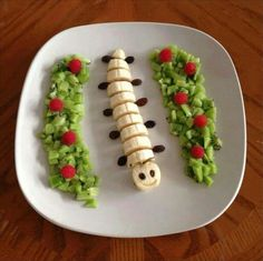 5 Simple Yet Yummy Healthy Snacks Food Art For Kids, Cooking With Kids, Cute Food, Good Food, Yummy Food, Toddler Meals, Kids Meals, Good Healthy Snacks, Healthy Eating