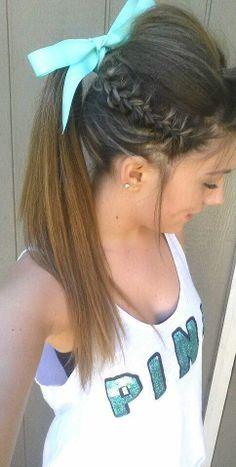 braid/ ponytail