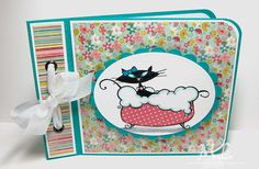 HYCCT1417 Sprinkle in the bath by eliotstamps - Cards and Paper Crafts at Splitcoaststampers