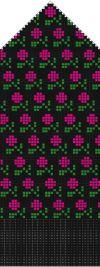 Latvian mitten pattern