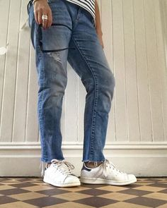 Its DENIM today on #averyimportantstyle - lets see yours