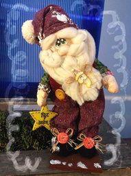Tomás el Papá Noel country Etsy Christmas, Primitive Christmas, Best Christmas Gifts, Christmas Crafts, Christmas Ornaments, Christmas Is Coming, Christmas And New Year, Santa Doll, Pattern Paper
