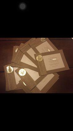 Primera comunión invitaciones. Juego de 10 por HandcraftedByW