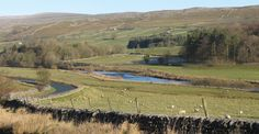 One of the best views in Wharfedale, on the road from Grassington to Kettlewell