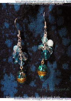Qing's joy of creation: earrings DIY