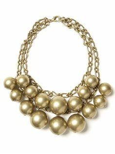Women s Jewelry Accessories Bauble necklace statements necklaces Banana Republic - Stylehive