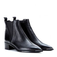 Acne Studios Jensen Leather Ankle Boots |  | @andwhatelse