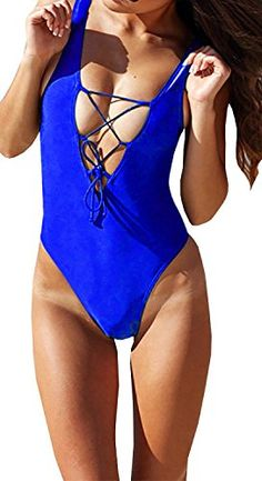 Special Offer: $21.99 amazon.com Women Sexy Cute One Piece Swimsuits Main material:Polyester Spandex Unique style,make you beautiful,fashionable,sexy and elegant. Please check the measurement chart carefully before you buy the item. Size Chart:...