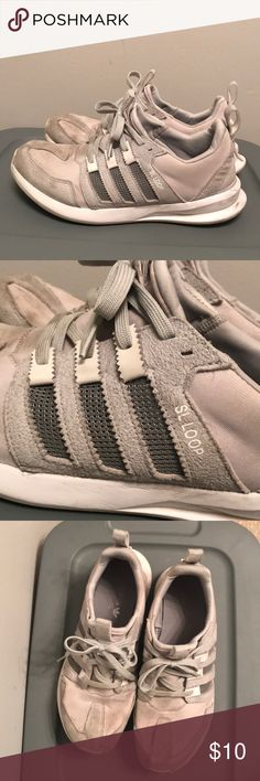 Shop Men s adidas Gray size 11 Athletic Shoes at a discounted price at  Poshmark. Description  Men s Adidas SL Loop size 11 in light grey. 47014c327dd