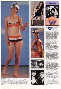 Martha Quinn Italo Disco, Funky Outfits, 80s Music, Cute Shorts, Mtv, Bikinis, Swimwear, Dads, Film