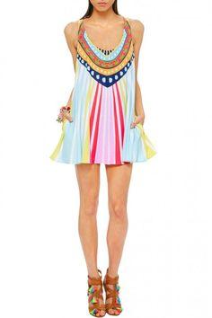 Swing Dress - #Simple Frocks -- #Full Frontal Yokes